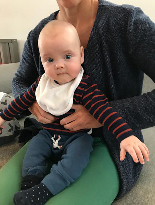 Osteopaat Baby's Nele Vrolix Bilzen Therapiepunt