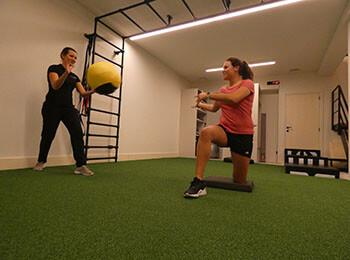 Personal training 1 op 1 met Nathalie Descamps